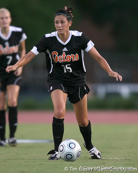 Florida junior defender Nicky Kit controls the ball during the Gators' 3-0 win against the Florida International Golden Panthers on Friday, August 28, 2009 at James G. Pressly Stadium in Gainesville, Fla / Gator Country photo by Tim Casey