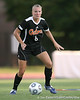 Florida senior midfielder Jessica Eicken looks to pass during the Gators' 3-0 win against the Florida International Golden Panthers on Friday, August 28, 2009 at James G. Pressly Stadium in Gainesville, Fla / Gator Country photo by Tim Casey