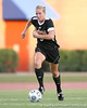 Florida senior defender Lauren Hyde runs with the ball during the Gators' 3-0 win against the Florida International Golden Panthers on Friday, August 28, 2009 at James G. Pressly Stadium in Gainesville, Fla / Gator Country photo by Tim Casey