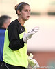 FIU goalkeeper Melanie Raimo during the Gators' 3-0 win against the Golden Panthers on Friday, August 28, 2009 at James G. Pressly Stadium in Gainesville, Fla / Gator Country photo by Tim Casey