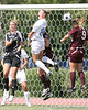 photo by Tim Casey<br /> <br /> Florida freshman midfielder/defender Sarah Chapman during the first half of the Gators' 3-0 win against the Mississippi State Bulldogs on Sunday, October 12, 2008 at James G. Pressly Stadium in Gainesville, Fla.