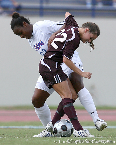 photo by Tim Casey<br /> <br /> Florida freshman forward Marsha Harper during the second half of the Gators' 3-0 win against the Mississippi State Bulldogs on Sunday, October 12, 2008 at James G. Pressly Stadium in Gainesville, Fla.