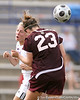 photo by Tim Casey<br /> <br /> Florida junior midfielder Jessica Eicken during the second half of the Gators' 3-0 win against the Mississippi State Bulldogs on Sunday, October 12, 2008 at James G. Pressly Stadium in Gainesville, Fla.