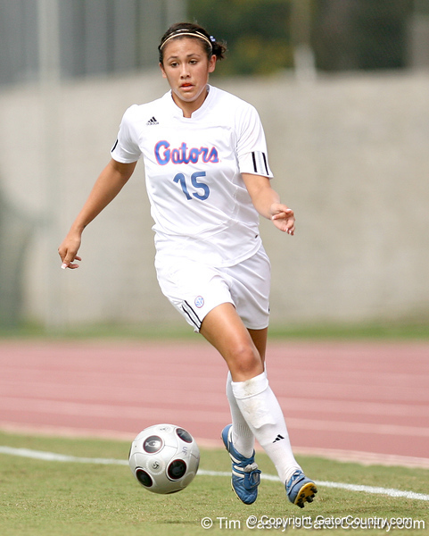 photo by Tim Casey<br /> <br /> Florida sophomore defender Nicky Kit during the second half of the Gators' 3-0 win against the Mississippi State Bulldogs on Sunday, October 12, 2008 at James G. Pressly Stadium in Gainesville, Fla.