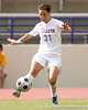 photo by Tim Casey<br /> <br /> Florida freshman midfielder/defender Ericka Miller during the second half of the Gators' 3-0 win against the Mississippi State Bulldogs on Sunday, October 12, 2008 at James G. Pressly Stadium in Gainesville, Fla.