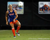 Florida sophomore defender Haley Reeb passes the ball during the Gators' Orange & Blue Scrimmage on Friday, August 12, 2011 at the UF Lacrosse/Soccer Facility in Gainesville, Fla. / Gator Country photo by Tim Casey