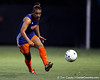 Florida freshman defender Lauren Silver passes the ball during the Gators' Orange & Blue Scrimmage on Friday, August 12, 2011 at the UF Lacrosse/Soccer Facility in Gainesville, Fla. / Gator Country photo by Tim Casey