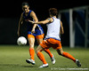 Florida junior midfielder/defender Brooke Thigpen passes the ball during the Gators' Orange & Blue Scrimmage on Friday, August 12, 2011 at the UF Lacrosse/Soccer Facility in Gainesville, Fla. / Gator Country photo by Tim Casey