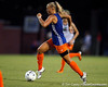 Florida redshirt-junior midfielder McKenzie Barney dribbles the ball during the Gators' Orange & Blue Scrimmage on Friday, August 12, 2011 at the UF Lacrosse/Soccer Facility in Gainesville, Fla. / Gator Country photo by Tim Casey