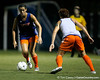 Florida junior midfielder/defender Brooke Thigpen looks to pass during the Gators' Orange & Blue Scrimmage on Friday, August 12, 2011 at the UF Lacrosse/Soccer Facility in Gainesville, Fla. / Gator Country photo by Tim Casey