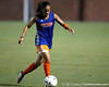 Florida senior midfielder/forward Tahnai Annis controls the ball during the Gators' Orange & Blue Scrimmage on Friday, August 12, 2011 at the UF Lacrosse/Soccer Facility in Gainesville, Fla. / Gator Country photo by Tim Casey