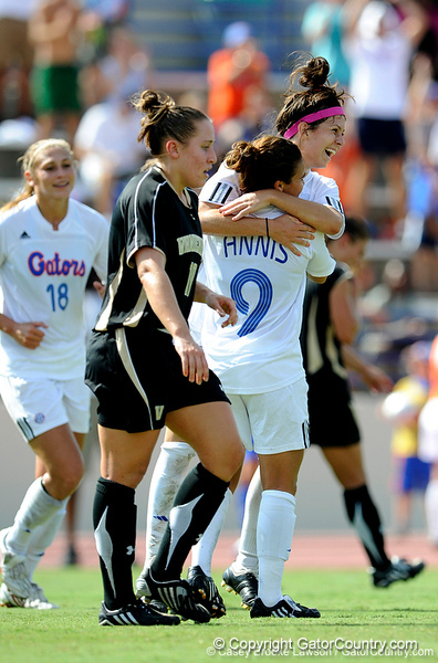 The University of Florida Gators defeat the Vanderbilt Commodores 5-1 in Gainesville, Fla. on Sunday, September 27, 2009. / Gator Country photo by Casey Brooke Lawson