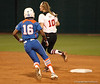 Michelle Moultrie on the move to 2nd Base ....