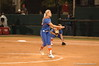 Hannah Rogers, Gator Starting Pitcher delivers a pitch