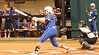 Lauren Haeger flies out in the first inning