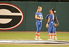 Gator Outfield discusses defensive alignment between innings