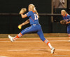 Hannah Rogers strides toward Homeplate