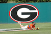 Michelle Moultrie makes a full layout, diving catch in Center for the second UGA out in the 7th Inning
