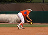 Katie Medina makes another gorund ball pick up for thre 2nd pout in the 6th Inning