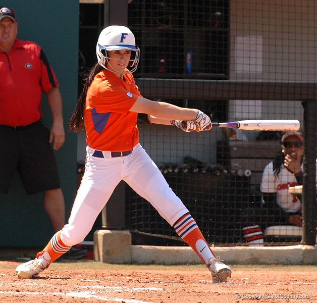 Ensley Gammel swings away