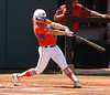 Cheyenne Coyle gets full extension on her swing