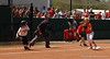 Sami Fagan catches a UGA runner for an out