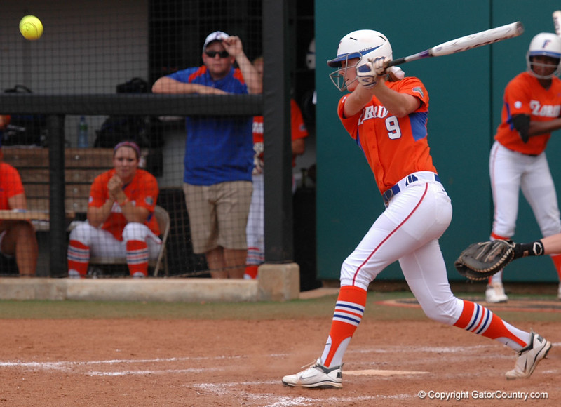Kasey Fagan strokes a double in the 6th Inning