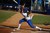 Florida sophomore Brittany Schutte follows through with her swing during the Gators' 8-0 win against the Bethune-Cookman Wildcats on Friday, May 20, 2011 at Katie Seashole Pressly Stadium in Gainesville, Fla. / photo by Rob Foldy