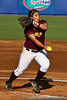 Bethune-Cookman pitcher Allison Garcia delivers the ball during the Gators' 8-0 win against the Wildcats on Friday, May 20, 2011 at Katie Seashole Pressly Stadium in Gainesville, Fla. / photo by Rob Foldy