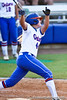 Florida sophomore Brittany Schutte watches the ball during the Gators' 8-0 win against the Bethune-Cookman Wildcats on Friday, May 20, 2011 at Katie Seashole Pressly Stadium in Gainesville, Fla. / photo by Rob Foldy