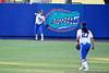 Florida senior Kelsey Bruder throws the ball to her cut-off during the Gators' 8-0 win against the Bethune-Cookman Wildcats on Friday, May 20, 2011 at Katie Seashole Pressly Stadium in Gainesville, Fla. / photo by Rob Foldy