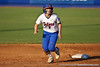 Florida junior Lauren Heil watches the ball during the Gators' 8-0 win against the Bethune-Cookman Wildcats on Friday, May 20, 2011 at Katie Seashole Pressly Stadium in Gainesville, Fla. / photo by Rob Foldy