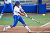 Florida freshman shortstop Cheyenne Coyle hits a solo homerun in the bottom of the fifth inning during the Gators' 8-0 win against the Bethune-Cookman Wildcats on Friday, May 20, 2011 at Katie Seashole Pressly Stadium in Gainesville, Fla. / photo by Rob Foldy