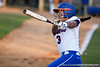 Florida senior second baseman Aja Paculba follows through with her swing during the Gators' 8-0 win against the Bethune-Cookman Wildcats on Friday, May 20, 2011 at Katie Seashole Pressly Stadium in Gainesville, Fla. / photo by Rob Foldy
