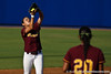 A Bethune-Cookman infielder catches a fly ball during the Gators' 8-0 win against the Wildcats on Friday, May 20, 2011 at Katie Seashole Pressly Stadium in Gainesville, Fla. / photo by Rob Foldy
