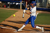 Florida senior Kelsey Bruder connects with the ball during the Gators' 8-0 win against the Bethune-Cookman Wildcats on Friday, May 20, 2011 at Katie Seashole Pressly Stadium in Gainesville, Fla. / photo by Rob Foldy