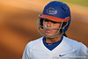 Florida freshman Kasey Fagan returns to the dugout during the Gators' 8-0 win against the Bethune-Cookman Wildcats on Friday, May 20, 2011 at Katie Seashole Pressly Stadium in Gainesville, Fla. / photo by Rob Foldy