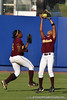 Bethune-Cookman players catch a pop fly during the Gators' 8-0 win against the Wildcats on Friday, May 20, 2011 at Katie Seashole Pressly Stadium in Gainesville, Fla. / photo by Rob Foldy