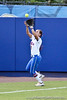 Florida senior Kelsey Bruder catches a ball in foul territory during the Gators' 8-0 win against the Bethune-Cookman Wildcats on Friday, May 20, 2011 at Katie Seashole Pressly Stadium in Gainesville, Fla. / photo by Rob Foldy