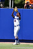 Florida junior center fielder Michelle Moultrie snags a fly ball during the Gators' 7-2 victory over the Tennessee Vols on Sunday, May 8, 2011 at Katie Seashole Pressly Stadium in Gainesville, Fla. / photo by Rob Foldy