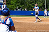 Florida freshman pitcher Hannah Rogers warms up in between innings during the Gators' 7-2 victory over the Tennessee Vols on Sunday, May 8, 2011 at Katie Seashole Pressly Stadium in Gainesville, Fla. / photo by Rob Foldy