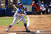 Florida senior second baseman Aja Paculba connects for a stand-up triple in the first inning of the Gators' 7-2 victory over the Tennessee Vols on Sunday, May 8, 2011 at Katie Seashole Pressly Stadium in Gainesville, Fla. / photo by Rob Foldy