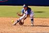 Florida freshman shortstop Cheyenne Coyle handles a ground ball before throwing out the runner during the Gators' 7-2 victory over the Tennessee Vols on Sunday, May 8, 2011 at Katie Seashole Pressly Stadium in Gainesville, Fla. / photo by Rob Foldy