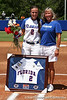 Florida senior Kelsey Bruder poses for a photo with her mother before the Gators' 7-2 victory over the Tennessee Vols on Sunday, May 8, 2011 at Katie Seashole Pressly Stadium in Gainesville, Fla. / photo by Rob Foldy