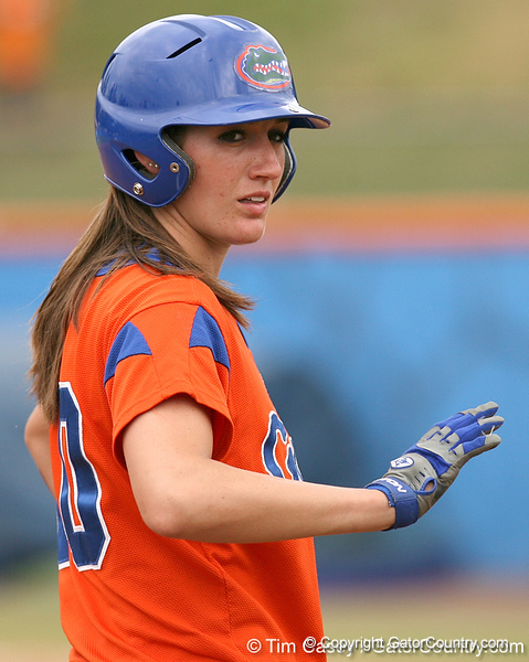 080419_EneaFrancesca_0789_TCasey<br /> <br /> photo by Tim Casey<br /> <br /> during the no. 3-ranked Florida Gators' sweep of a doubleheader against the Kentucky Wildcats on Saturday, April 19, 2008 at Katie Seashole Pressly Softball Stadium in Gainesville, Fla. UF improved to 50-2 on the season.