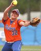 080419_BrombacherStephanie_0396_TCasey<br /> <br /> photo by Tim Casey<br /> <br /> during the no. 3-ranked Florida Gators' sweep of a doubleheader against the Kentucky Wildcats on Saturday, April 19, 2008 at Katie Seashole Pressly Softball Stadium in Gainesville, Fla. UF improved to 50-2 on the season.