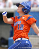 080419_BushMegan_0286_TCasey<br /> <br /> photo by Tim Casey<br /> <br /> during the no. 3-ranked Florida Gators' sweep of a doubleheader against the Kentucky Wildcats on Saturday, April 19, 2008 at Katie Seashole Pressly Softball Stadium in Gainesville, Fla. UF improved to 50-2 on the season.