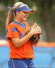 080419_BushMegan_0469_TCasey<br /> <br /> photo by Tim Casey<br /> <br /> during the no. 3-ranked Florida Gators' sweep of a doubleheader against the Kentucky Wildcats on Saturday, April 19, 2008 at Katie Seashole Pressly Softball Stadium in Gainesville, Fla. UF improved to 50-2 on the season.