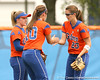 080419_EneaFrancescaWaleszoniaKimRatliffMary_0459_TCasey<br /> <br /> photo by Tim Casey<br /> <br /> during the no. 3-ranked Florida Gators' sweep of a doubleheader against the Kentucky Wildcats on Saturday, April 19, 2008 at Katie Seashole Pressly Softball Stadium in Gainesville, Fla. UF improved to 50-2 on the season.