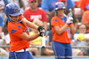 080419_PaculbaAja_0830_TCasey<br /> <br /> photo by Tim Casey<br /> <br /> during the no. 3-ranked Florida Gators' sweep of a doubleheader against the Kentucky Wildcats on Saturday, April 19, 2008 at Katie Seashole Pressly Softball Stadium in Gainesville, Fla. UF improved to 50-2 on the season.
